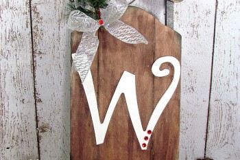 Rustic Winter Sleigh