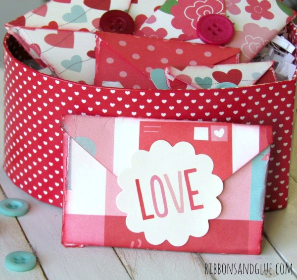 How to make Folded Heart Valentine's So cute and easy! Kids will love doing this!