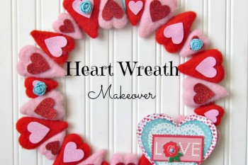 Heart Wreath Makeover