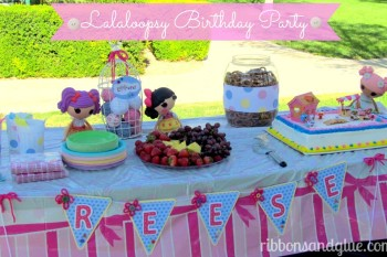 Sew Cute Lalaloopsy Birthday Party…