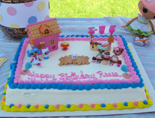 Swell Sew Cute Lalaloopsy Birthday Party Personalised Birthday Cards Rectzonderlifede