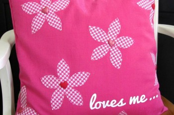 Loves Me Valentine Pillow