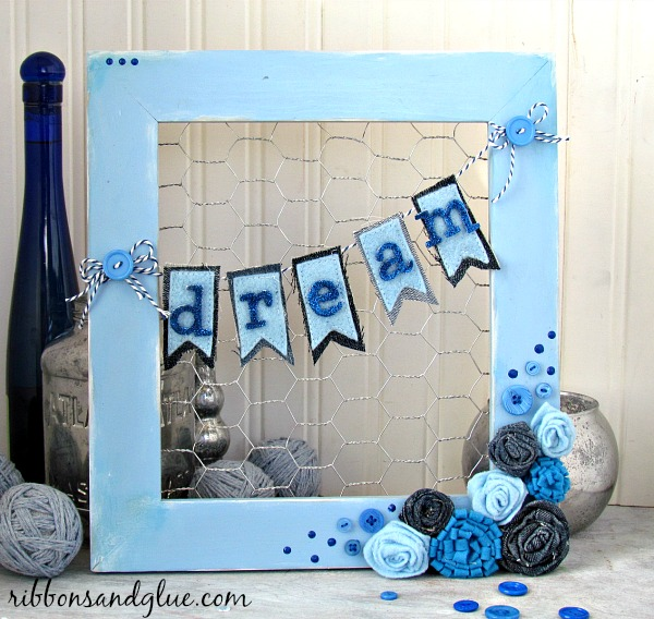 Shades of Blue Frame