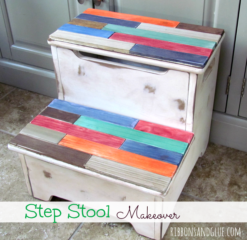 DIY Step Stool Makeover