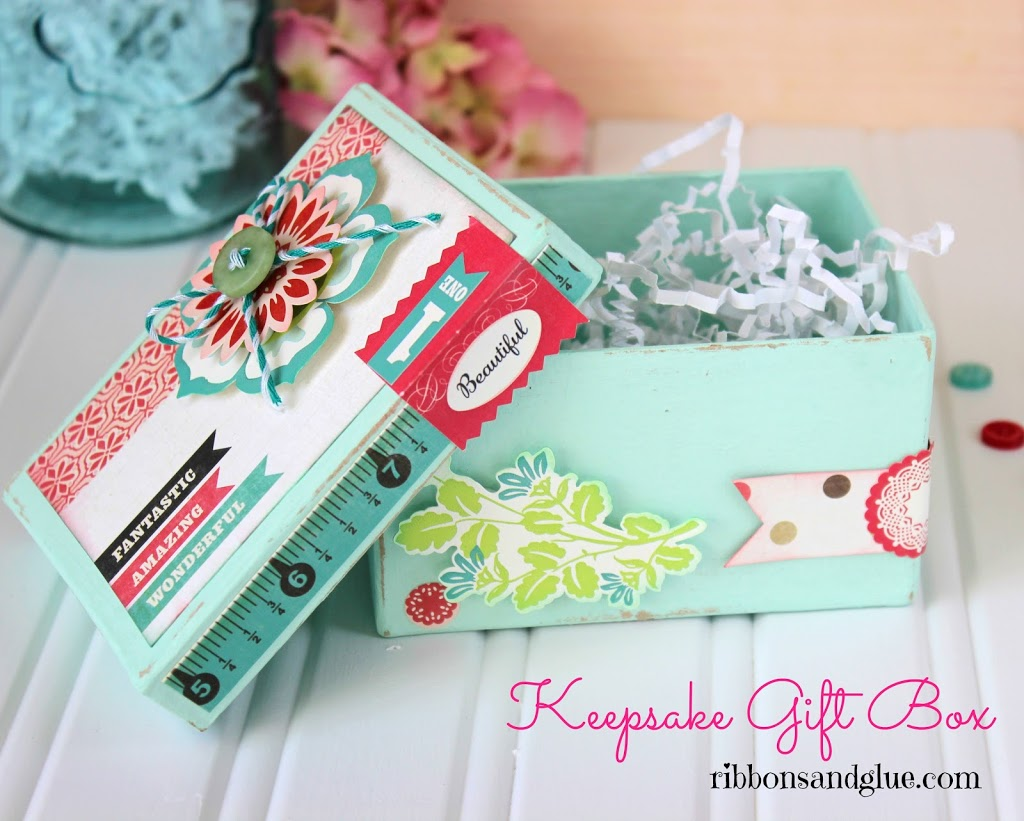 Paper Mache Keepsake Box