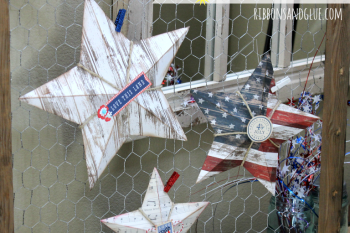 How to make 3D Patriotic Stars