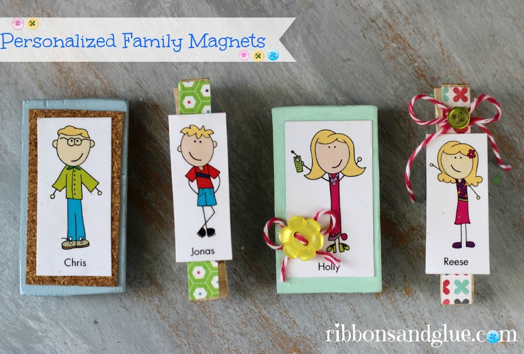 Personalized Family Magnets with Expressionery.com