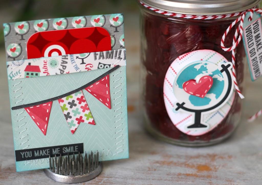 Treat Jar and Gift Card Set