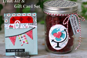 Mason Jar Treat and Gift Card Set