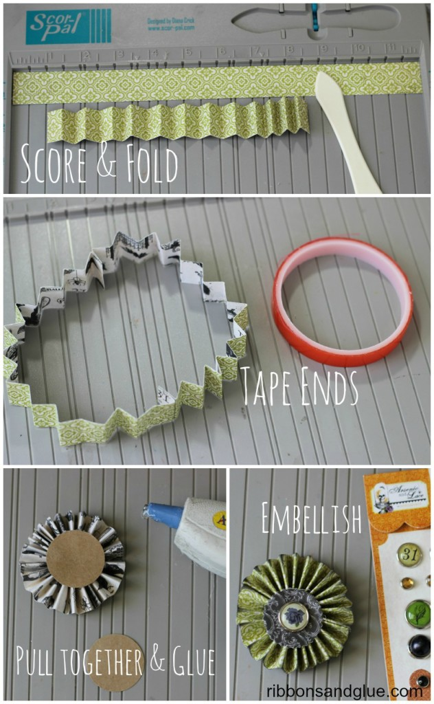 Tutorail on How to make a Rosette