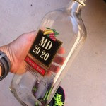 Upcycled Glass Bottle