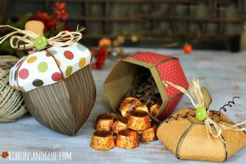 Fall Acorn Boxes