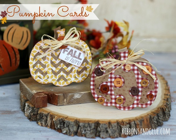 Fall Pumpkin Cards