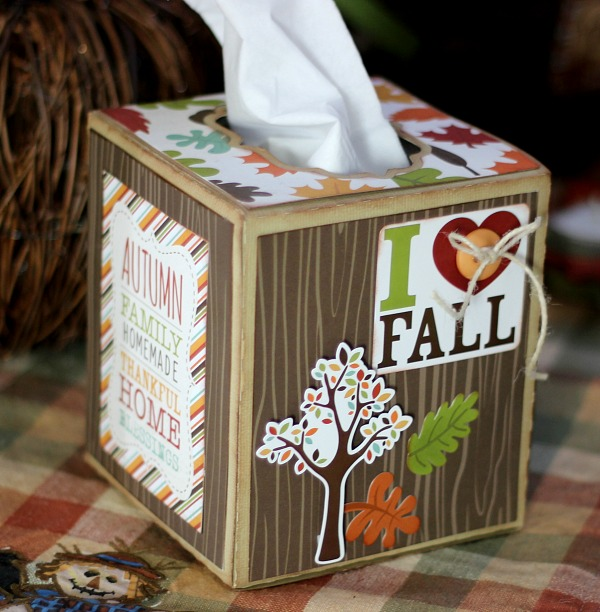 Fall Tissue Box 3