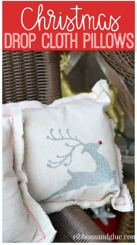 christmas-drop-cloth-pillows