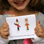 Personalized Christmas Stationery from Expressionery.com by Laura Kelly