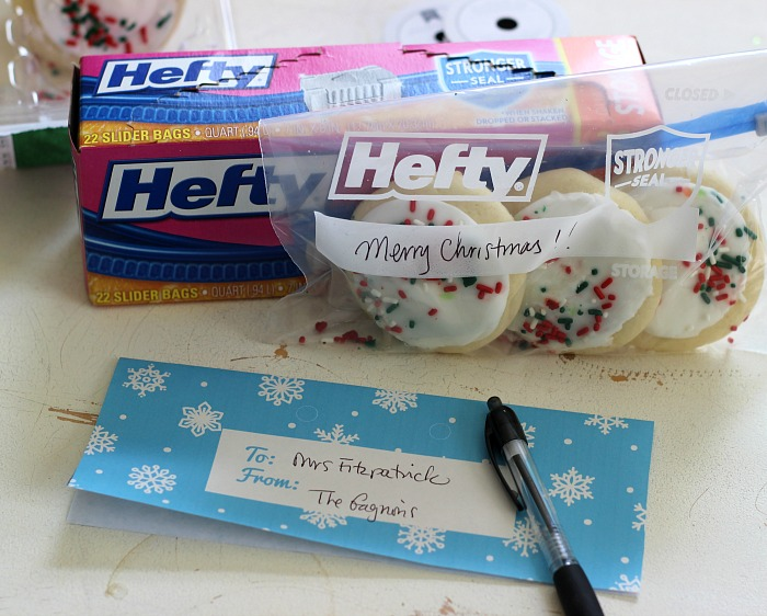 #Hefty Quart Size bags perfect for Holiday Treats