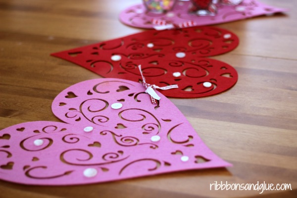New Sew Valentine's Table Runner