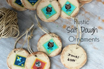 Salt Dough Ornaments for Cub Scouts