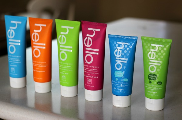 Hello Toothpaste.  New flavors including mint-free kids flavors