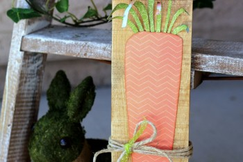 Spring Carrot made with @pebblesinc and @silhouettepins