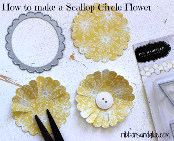 How to make a Scallop Circle Flower