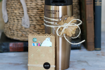 Mother's Day Tumbler Set mde with @pebblesinc Home + Made collection