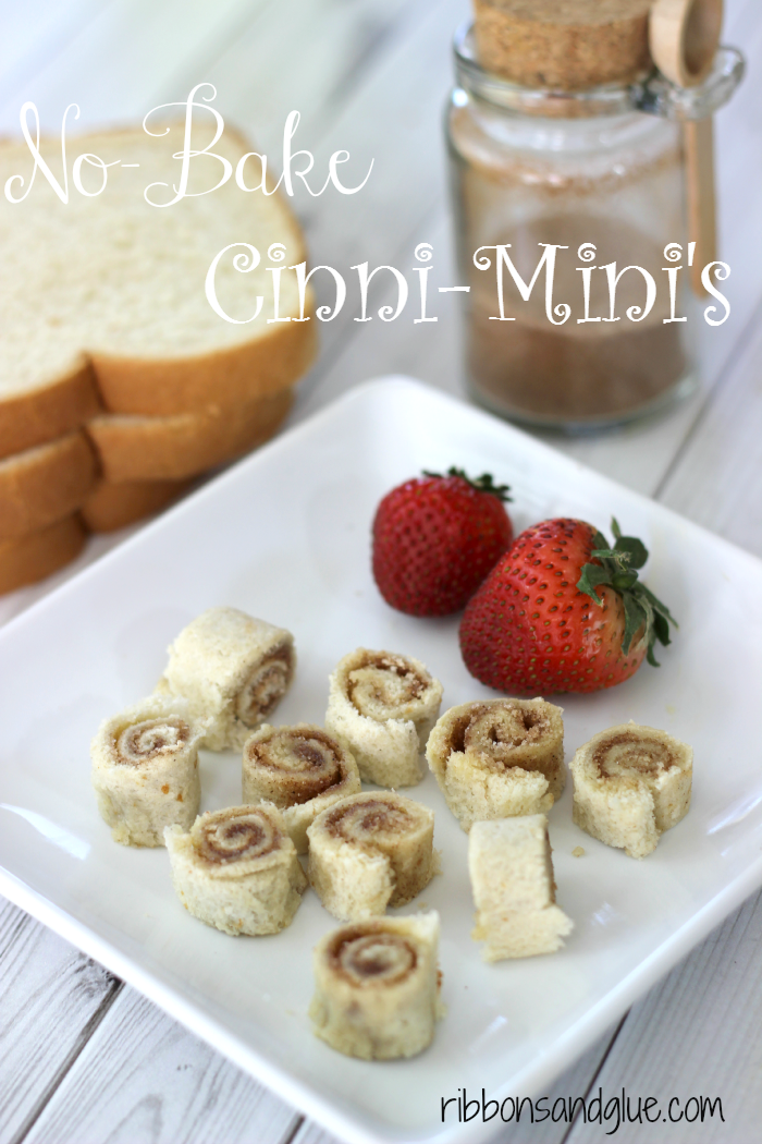 Easy No-Bake Mini Cinnamon Rolls