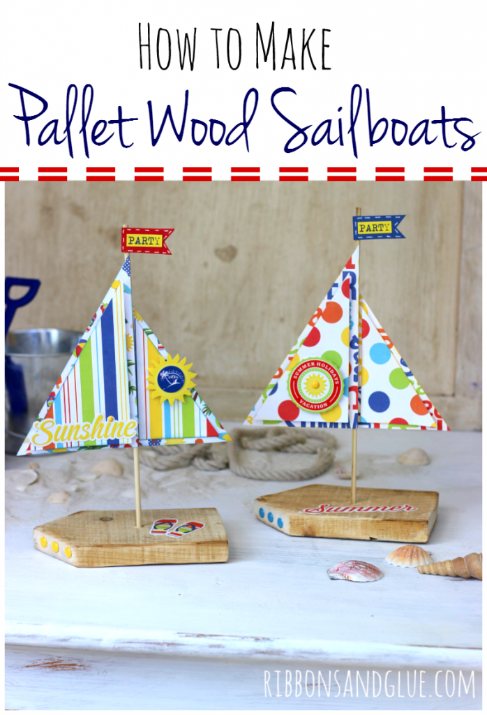 Pallet Wood Sailboats