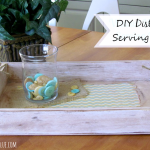 DiY Distressed Walnut Hollow Serving Tray