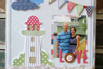 Vintage Summer Decor made with @silhouetteamerica cut files