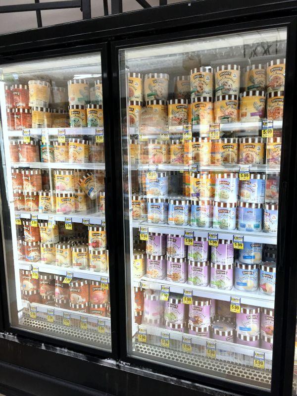Yummy Dryer's Ice Cream at Alberston's!