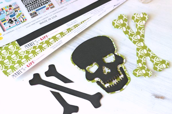How to offset a Skull and Crossbones cut file with the @silhouetteamerica