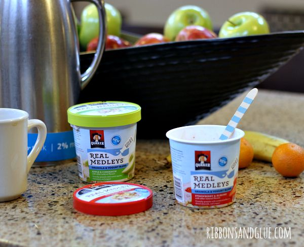 Quaker Oats Yogurt Cups- A Breakfast Party!