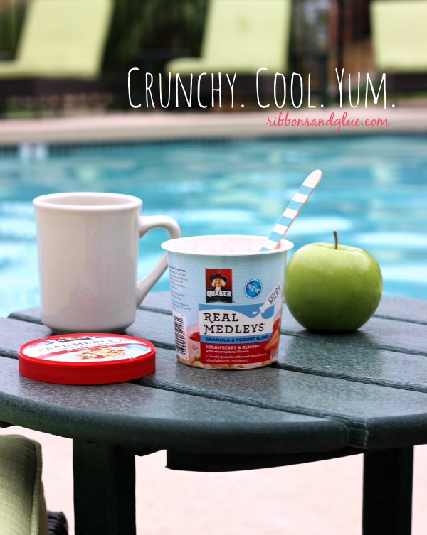 Quaker Oats Yogurt Cups- A Breakfast Party!  #cruncycoolyum