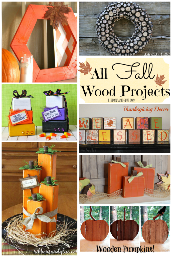 Roundup of unique project for Fall all made out of Wood!