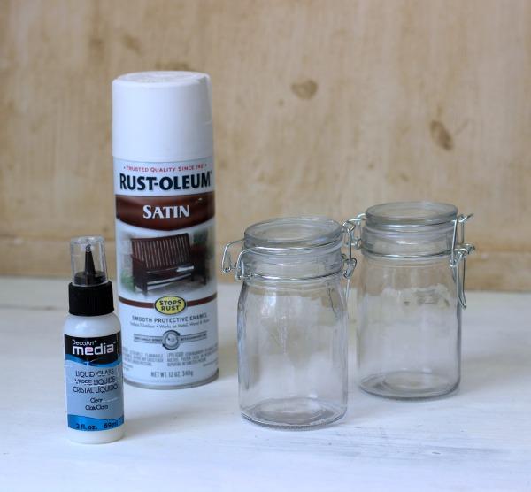 Tutorial on how to make DIY Milk Glass.