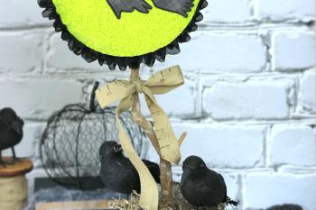Halloween Witch Centerpiece
