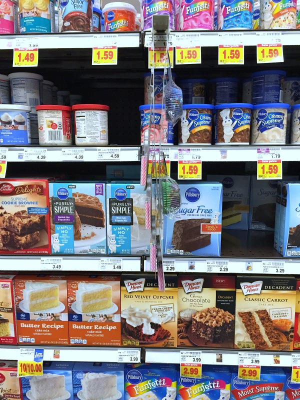 Pillsbury Purely Simple cake mixes found at Kroger Stores. #ad #purelysimple