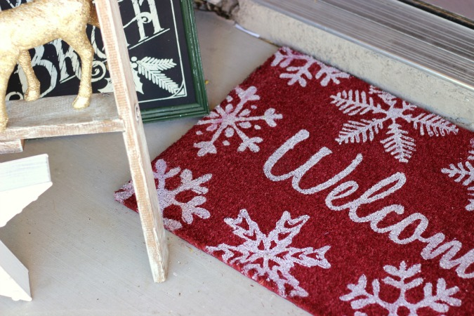 Christmas Welcome Mat