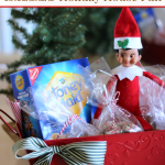 Elf Gingerbread Holiday House Basket Idea