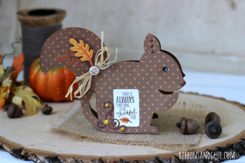 Fall Chipmunk Card