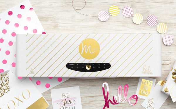 Ten Must Have Gift Ideas for Crafters. Minc Foil applicator is a unique way to add shine to cards and more.