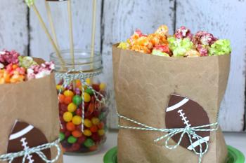 Easy Skittles Popcorn