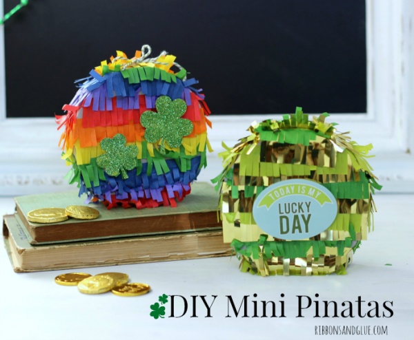 St Patrick's Day Mini Pinatas