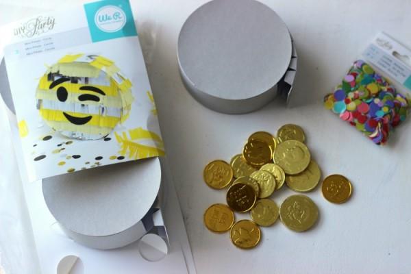 We R Memory Keepers DIY Party Mini Pinatas. Super easy and fun to make!