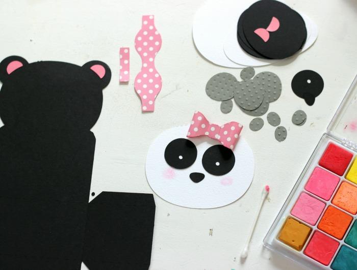 Panda Bear Box