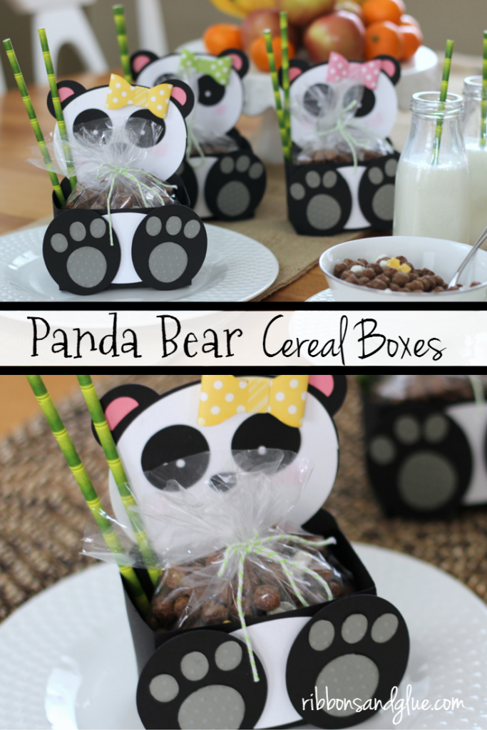 Panda Bear Cereal Boxes Kung Fu