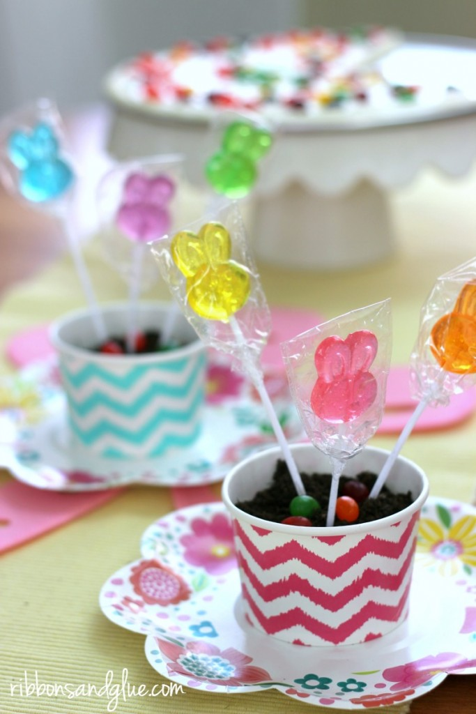 Planted Lollipops