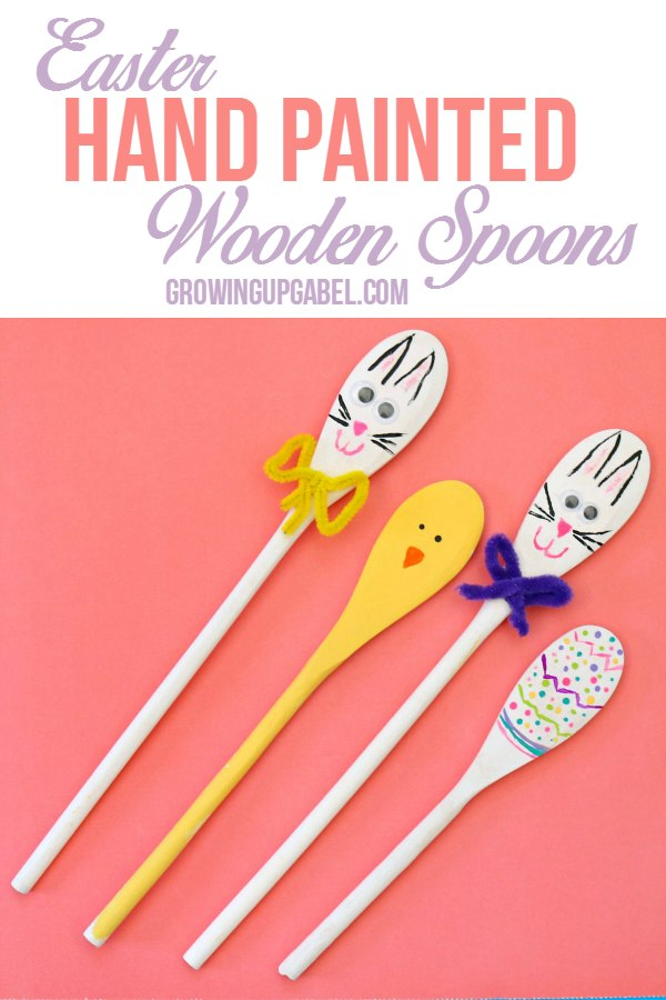 Painted Easter Spoons